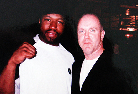 with Ray Mercer