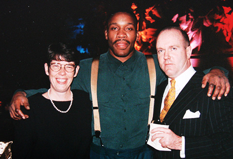 with Sister Mary from Project HOME and Terrible Tim Witherspoon