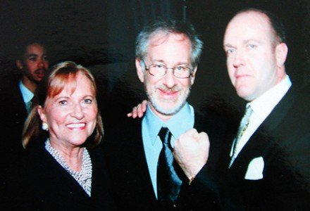 with Steven Spielberg